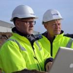Lars Blaaberg (t.v.) og Peer Kisbye - stiftere og direktører i fremstormende V2C