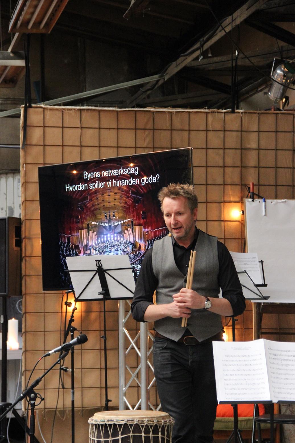 Orkesterleder Uffe Savary fra Copenhagen Phil
