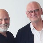 Lars Blaaberg (tv) og Hans Toksvig Larsen